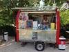 Neu: ein kleiner Crepe-Stand in Labastide-de-Virac
