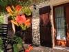 Die Terrasse mit Pergola spendet im Sommer herrlichen Schatten