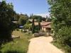Ferienhaus mit schönem Garten (Ansicht von der Einfahrt, Süd-Ost)