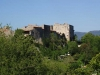 Blick auf das Château in Labastide de Virac