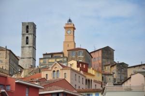 Die Altstadt von Grasse, Provence, Frankreich