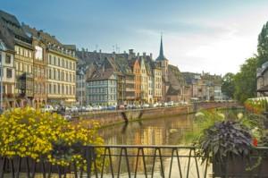 Altstadt von Straßburg, Elsass, Frankreich